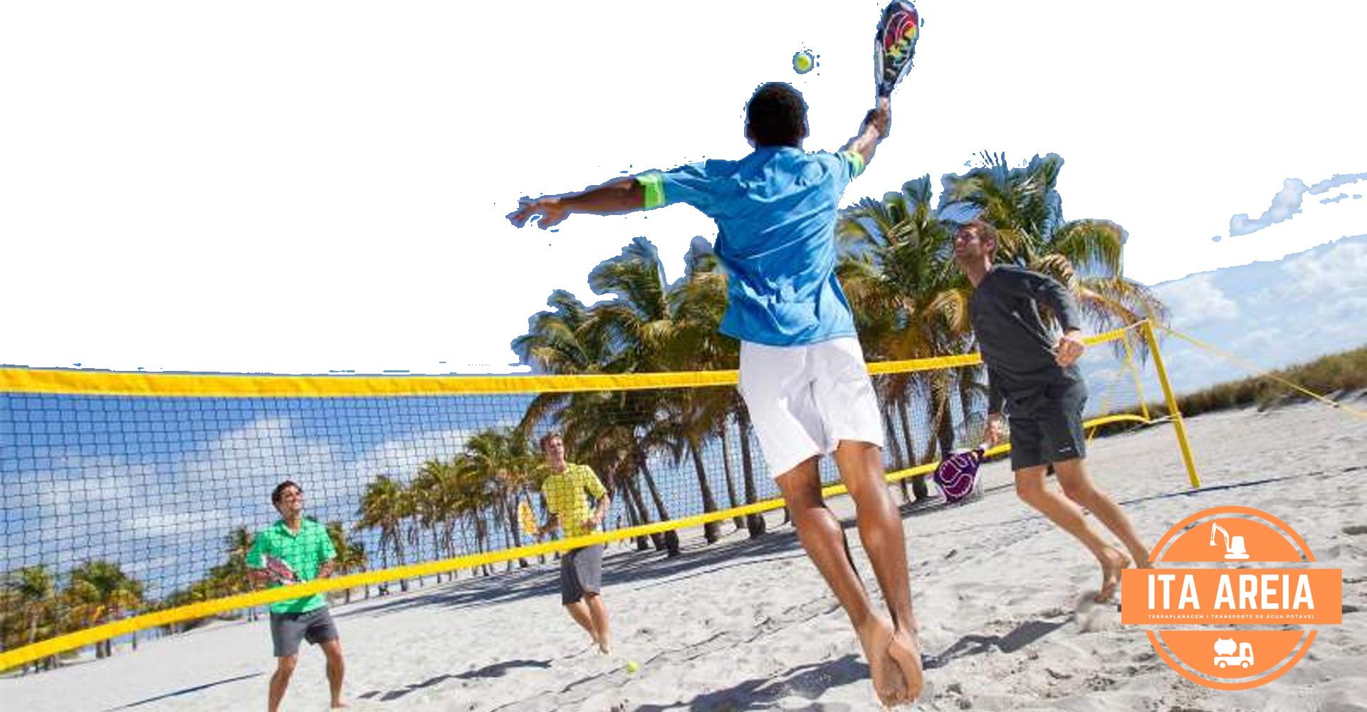 AREIA PARA BEACH TENNIS